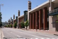 Richmond Convention Center on 7th Street, by Thomas Roberts