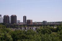 Richmond city skyline, by Thomas Roberts