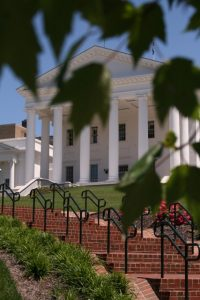 Virginia State Capitol, by Thomas Roberts